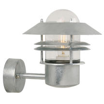 Blokhus Up Wall Light - Galvanised