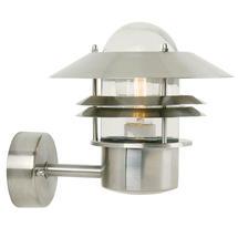 Blokhus Up Wall Light - Stainless Steel
