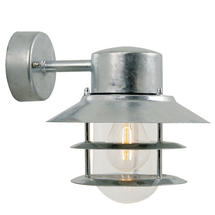 Blokhus Down Wall Light - Galvanised