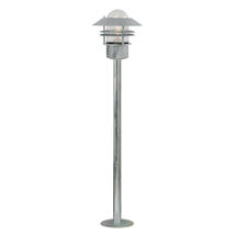 Blokhus Pillar Light - Galvanised