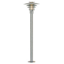 Phoenix Mini Pillar Light - Galvanised