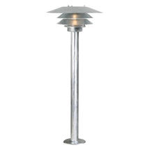 Veno Pillar Light - Galvanised