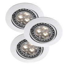 Recess Hi-Power LED Spotlight Kit - White