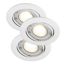 Recess LED Spotlight Kit - White