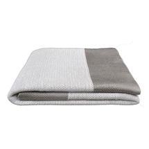 Knitted Throw - Granite