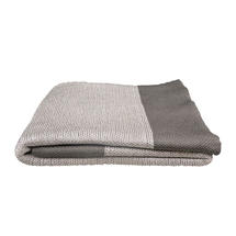Knitted Throw - Dusty White