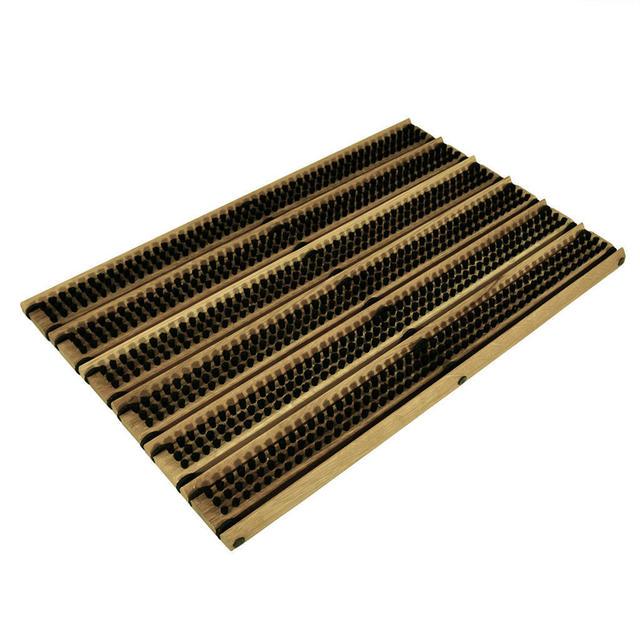 Tremendous Buy Oak Doormat With Horsehair Bristles The Worm That Door Handles Collection Olytizonderlifede