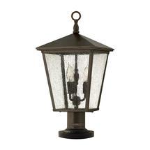 Trellis Pedestal Lantern
