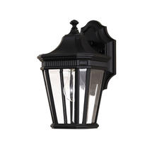 Cotswold Lane Small Wall Lantern - Black