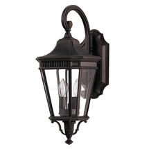 Cotswold Lane Medium Wall Lantern - Grecian Bronze