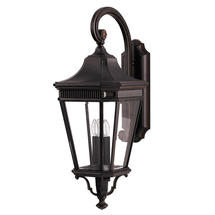 Cotswold Lane Large Wall Lantern - Grecian Bronze