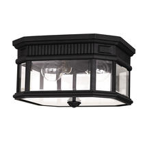 Cotswold Lane Porch Lantern - Black