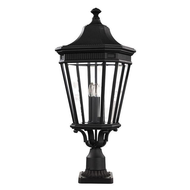 Buy Hornbaek Outdoor Pedestal Lantern By Elstead Lighting: Buy Cotswold Lane Outdoor Pedestal Lanterns By Feiss