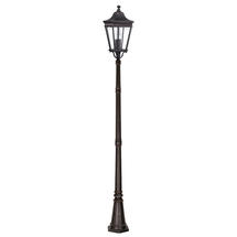 Cotswold Lane Pillar Lantern - Grecian Bronze