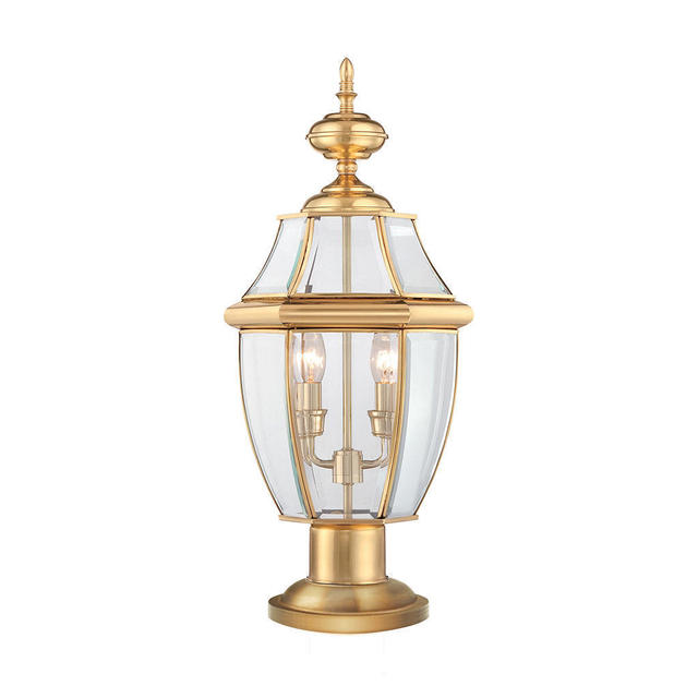Parish Mini Pedestal Lantern: Buy Newbury Outdoor Pedestal Lantern By Quoizel
