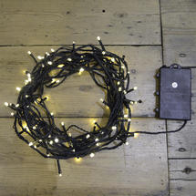 Warm White 100 LED String Lights
