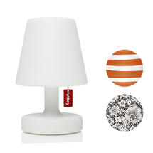Edison The Petit Table Lamp with Mr Orange and Ghent Lampshade Covers