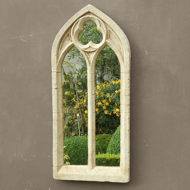 Buy Gothic Double Arch Garden Mirror The Worm That
