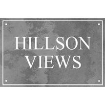 Smooth Black Slate Two Line House Sign with Border - Size 2
