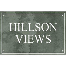 Smooth Green Slate Two Line House Sign with Border - Size 2