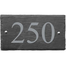 Rustic Slate 3 Digit House Number