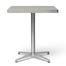 Concrete 70x70cm Square Bistro Table