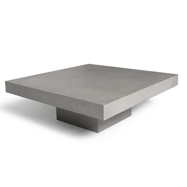 buy concrete t shaped coffee table by lyon beton the. Black Bedroom Furniture Sets. Home Design Ideas