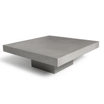 Concrete T Shaped Coffee Table
