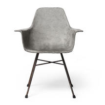 Hauteville Concrete High Armchair